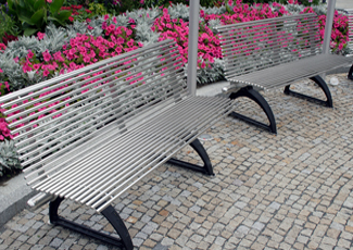 Stainless Steel Benches - Bonita, CA
