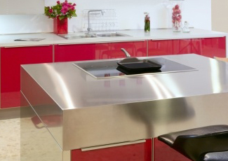 Stainless Kitchen Island Serving San Diego, We Fabricate Stainless Steel  Countertops ...